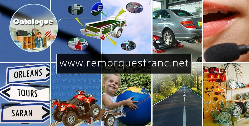 Remorques Franc Orléans (45) |  Vente et pose d'attelages automobiles